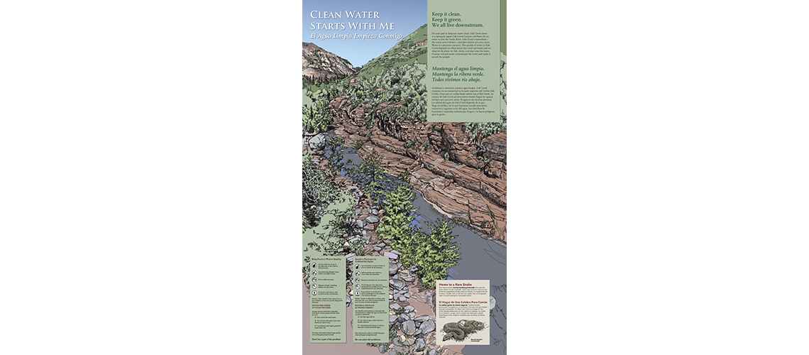 Sedona interpretive sign