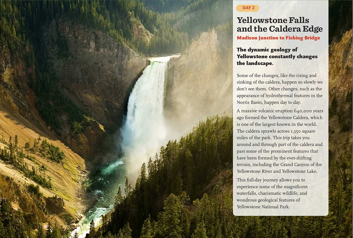 Yellowstone in a Day book